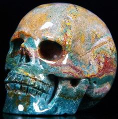 Indian Agate Carved Crystal Skull - from China