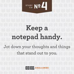 Bible Study Tip #4
