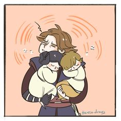 by theresa-draws a good dad Pixar, Anakin And Padme, Star Wars Fan Art, Star War 3, Anakin Skywalker, Star Wars Humor, Reylo, Mandalorian, Clone Wars