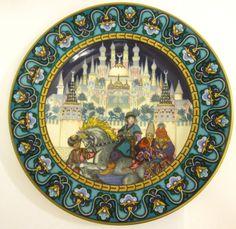 Villeroy+Boch RUSSIAN Fairy Tales PLATE In Search of The Firebird series #7