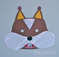 - - - SikSakSis - - -: Askartele vekkulit eläinnaamarit! Crafts For Kids, Arts And Crafts, Working With Children, Diy For Kids, Squirrel, Art Projects, Preschool, Kid Art, Christmas Ornaments