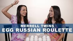 Egg Russian Roulette - Merrell Twins