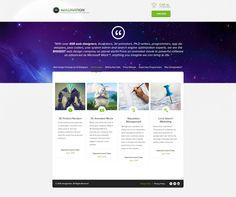 Website design for a contest