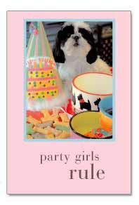 Party Girls Rule Birthday Card by Cardthartic