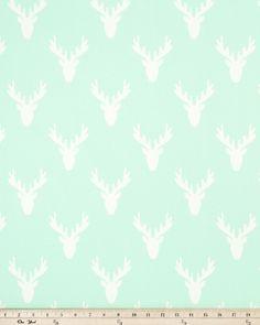 Antlers Mint Twill W