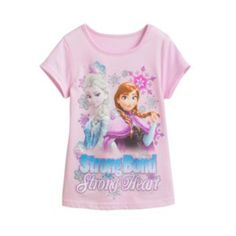 "Disney Frozen ""Strong Bond"" Anna & Elsa Tee - Girls 4-6x"
