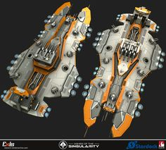 Art Dump: Ashes of the Singularity - polycount