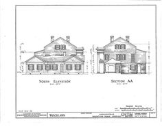 HABS (sheet 6 of - Woodlawn Plantation, State Highway Napoleonville, Assumption Parish, LA Plantation Homes, Greek Revival Home, Southern Mansions, Antebellum Homes, Historical Architecture, Abandoned Houses, Historic Homes, Louisiana, Architecture