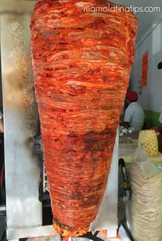 Learn how to make tacos al pastor at home with the help of a pressure cooker or instant pot. They are easy, fast and delicious. Authentic Mexican Recipes, Mexican Food Recipes, Authentic Food, Spanish Recipes, Tacos Al Pastor Recipe, Taquitos Al Pastor, Tacos Pastor, Trompo Tacos, Al Pastor Meat