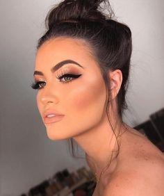 Perfect Makeup: Masters Course - Perfektes Make-up: Zertifizierter Online-Make-up-Kurs! Eye Makeup Glitter, Matte Makeup, Prom Makeup, Wedding Makeup, Hair Makeup, Bride Makeup, Eyebrow Makeup, Matte Lips, Professionelles Make Up