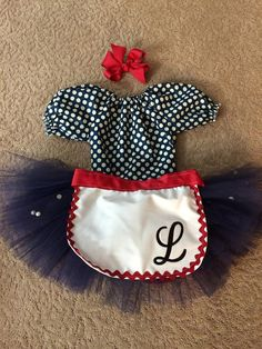Boutique custom handmade pageant girls I by Heavenlythingsforyou