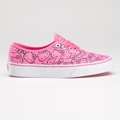 Hello Kitty VANS? Hello Kitty is seriously taking over the world. Yikes.