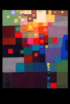 Illumination number one by Irene PlummerAcrylic on canvas, 20x24, unframed
