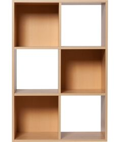 Buy Squares 6 Cube Unit - Beech Effect at Argos.co.uk - Your Online Shop for Storage units.
