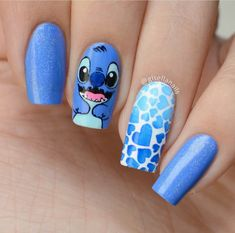 Disney Acrylic Nails, Summer Acrylic Nails, Best Acrylic Nails, Nagellack Design, Glow Nails, Cute Acrylic Nail Designs, Pretty Nail Art, Swag Nails, Cute Nails