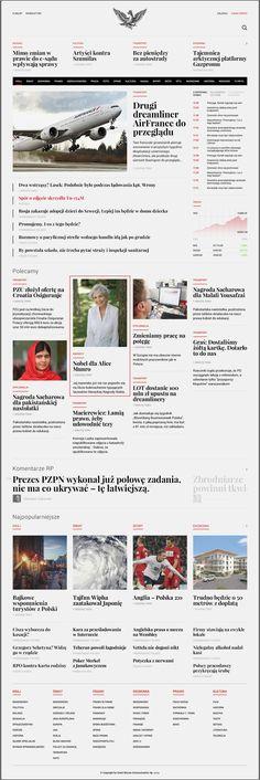 Rp.pl - Redesign Concept by Maciej Mach, via Behance