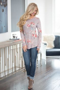 The Simplest Joys Floral Blouse - The Pink Lily Fashion Teen Fashion, Fashion Outfits, Womens Fashion, Quirky Fashion, Fashion Styles, Fashion Ideas, Spring Summer Fashion, Spring Outfits, Autumn Fashion