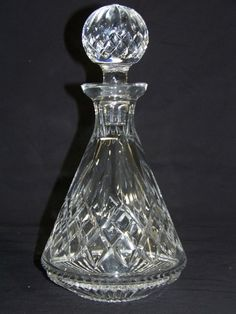 Great Waterford Crystal Decanter