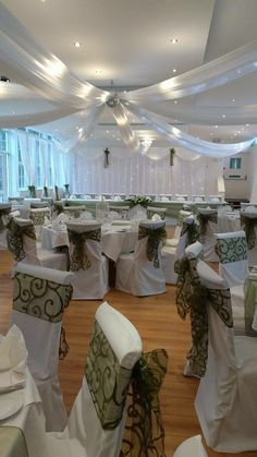 Chair Cover And Sash Hire Birmingham How To Refinish Wood Chairs 21 Best Images Covers Wall Ceiling Draping By Timeless Haughton Hall Shifnal