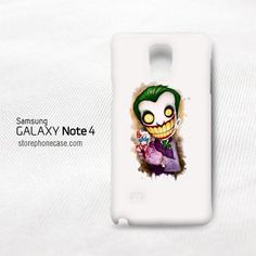 Batman Joker Cartoon Samsung Galaxy Note 4 Cover Case