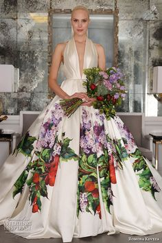 Romona Keveza Fall 2016 Luxe Bridal Wedding Dresses | Wedding Inspirasi