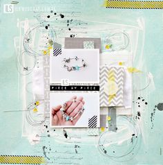 I {lowe} SCRAP :: 'La maison Rose' & 'LET it GO' by Janna Werner