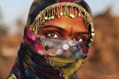 Danseuse gitane du Rajasthan, India