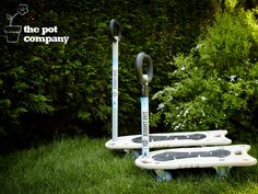 We're proud to be a distributor of the high quality and innovative range of planter trollies and carriers from Wagner! Planter Accessories, Water Features, Outdoor Power Equipment, Planters, Range, Landscape, Products, Water Sources, Cookers