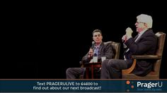 """Dennis Prager and Adam Carolla are LIVE on stage at Cal State Northridge, discussing Donald Trump, the (sorry) state of American higher education, """"white privilege"""", and 73 other things! #NoSafeSpaces"""