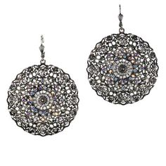 Large Silver Earrings, Silver Earrings For Women, Large Silver Hoop Earrings