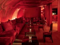 The fabulous Benjamin Noriega Ortiz Bar Lounge, Hookah Lounge, Scottsdale Hotels, Cafe Design, Interior Design, Nightclub Design, Jazz Bar, Red Bar, Red Rooms
