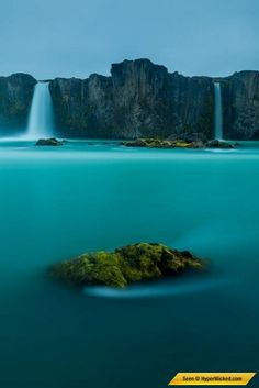 Waterfall of the Gods, Iceland #waterfalls #stunningwaterfalls
