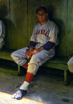 Johnny Vander Meer, x by Craig Kreindler Baseball Painting, Baseball Art, Baseball Photos, Baseball Players, Ken Burns, Sports Art, Cincinnati Reds, Hipster, Black And White