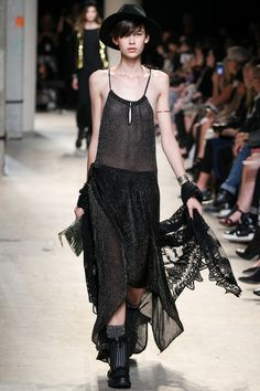 Zadig & Voltaire Spring 2014 Ready-to-Wear Collection #style #fashion #women #black #clothing #womens
