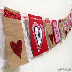 Valentine's Day Decorations: Mix and Match Banner Bunting