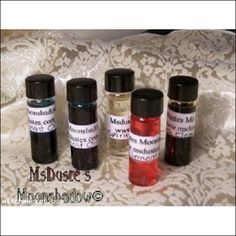 * Five Oils of the Elements Earth ~ Air ~ Fire ~ Water ~ Spirit $4.99