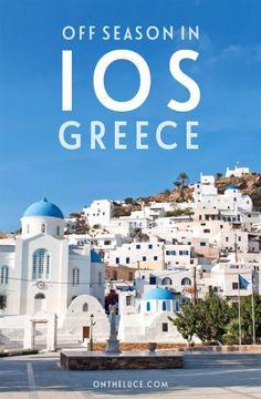 Off season in Ios, Greece – On the Luce travel blog