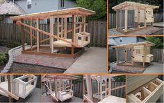 10+ DIY Backyard Chicken Coop Plans and Tutorial | www.FabArtDIY.com