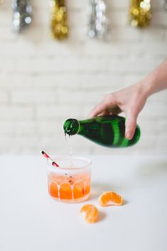 A skinny recipe that will take you from spring into summer: A Tangerine Spritz at Coco & Kelley