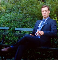Chuck Bass (Ed Westwick) From Gossip GIrl. The sexiest man on that show :)