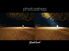 Photoshop Efeito Raio de Luz  (Light Beam) em Fotografia