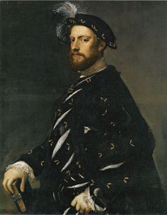 Titian | Portrait of a Man Holding a Book,  c. 1540 97.8 x 77.2 cm Museum of Fine Arts, Boston