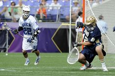 """Notre Dame Goalie """"Pipe"""" Training Drill (Video)"""