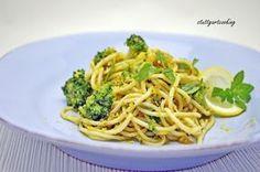 stuttgartcooking: Zitronen-Spaghetti mit gerösteten Semmelbrösel und Broccoli