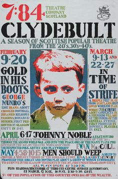 Modern Posters - 7:84 Theatre Company, Glasgow by University of Glasgow Library, via Flickr