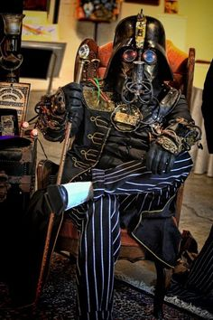 Steampunk Darth Vader Courtoisy of Hatton Cross Steampunk