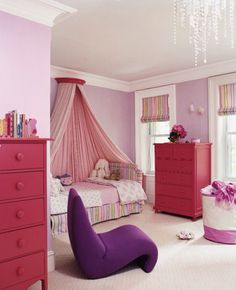 Perfect pink room