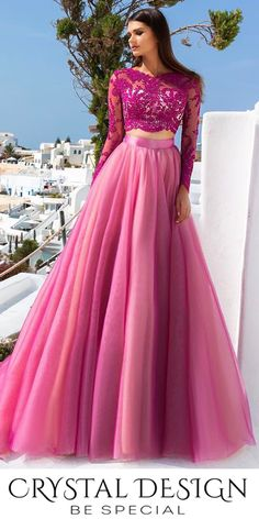 Pretty in pink redefined this season by Crystal Design who is slaying the special occasion selections with their new line!!