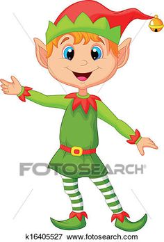 Illustration about Illustration of Cute christmas elf cartoon presenting. Illustration of happiness, christmas, costume - 34612510 Christmas Yard Art, Christmas Drawing, Christmas Paintings, Santa Paintings, Christmas Cartoons, Christmas Clipart, Christmas Elf, Christmas Crafts, Christmas Decorations