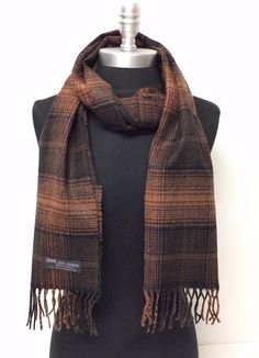 New Long Scarf Shawl Wrap. Our scarf areGREAT QUALITY designer scarves. Each scarf provides warmth and comfort. Your Style fashion Infinity scarf and Mohawk Hats. Men's Waistcoat, Designer Scarves, Long Scarf, Cashmere Scarf, Shawls And Wraps, Scarf Wrap, Rust, Scotland, Your Style